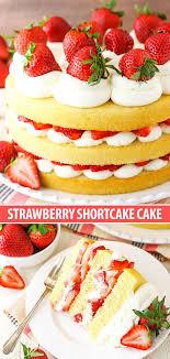 Easy Strawberry Shortcake Cake Recipe Life Love And Sugar