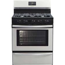 30 in. 4.2 cu. ft. Gas Range with 5 Burner Cooktop in Stainless Ranges - The Home Depot