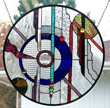 round stained glass window stained glass abstract stained glass window hangings also hanging stained glass windows