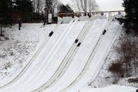 Image result for tobogganing