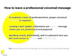 Business Cell Phone Voicemail Greeting Examples Exhibitia Co