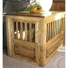dog crates as furniture. Dog Crate Furniture Diy Lovely Decorative Crates Handcrafted Ash Wood As