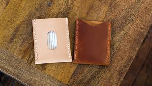 Leather Templates Basic Leather Card Sleeve Template Build Along Video Tutorial