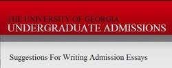top tools for writing the best admissions or scholarship essay  the university of undergraduate admissions
