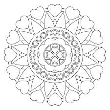 Mandala Coloring Pages Printable Free Free Printable Mandalas For