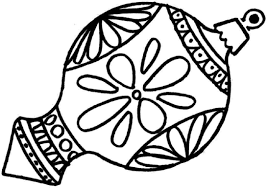Ornament Color Page Coloring Pages Christmas Beautiful To Print ...