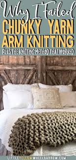 before you try arm knitting check out this comparison if you want to diy knit