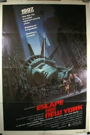 Image result for escape from new york poster
