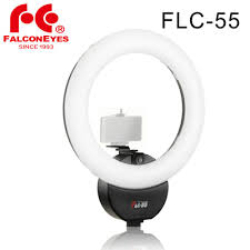 Soft Selfie Light Us 102 95 29 Off Falcon Eyes Flc 55 Led Soft Ring Lighting 5600k Portable For Phone Video Live Selfie Light For Studio With Phone Bracket Filter In