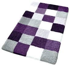 beautiful multi colored bath rugs purple checker pattern rich color plush bathroom rug striped mat coloured