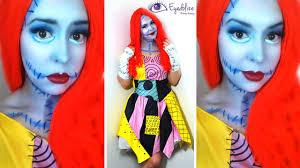 sally nightmare before makeup tutorial costume with with sally nightmare before costume diy
