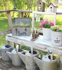 more whitewashing and garden junk