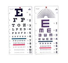 Free Online Eye Test Chart Illiterate Eye Test Chart Only