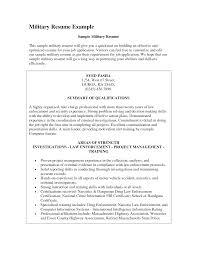 Military Resume 2014 Sales Military Lewesmr