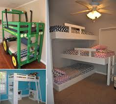 10 Cool DIY Bunk Bed Designs For Kids Apartment Bedroom Decorating Ideas