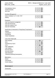 registered nurse skills list sample nursing skills checklist bluepipes blog