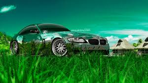 bmw z4m crystal nature car
