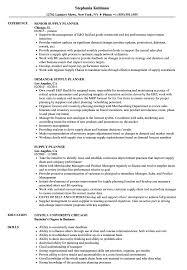 Supply Planner Resume Samples Velvet Jobs