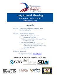 nc vetbiz annual meeting tickets thu feb at  have questions about nc vetbiz 2017 annual meeting contact n c veterans business association ncvetbiz org