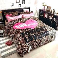 zebra print comforter animal bedroom sets king new leopard queen bed set with