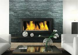 fireplace ledgestone stacked stone slate traditional wall and floor tile minneapolis by