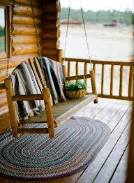 log cabin outdoor furniture patio. i would like a porch swing for summer night reading u003cu003cu003c cabin log outdoor furniture patio t