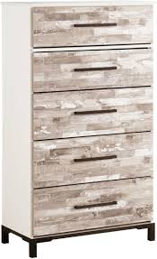 ashley furniture chest of drawers. Ashley Furniture Evanni Five Drawer Chest In Vintage White Of Drawers