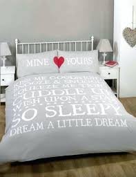 white duvet cover uk kiss me double bed size snooze u0026 snuggle natural beige white red