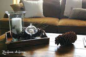 Serving Tray Decoration Ideas Serving Tray Decor Best Ideas On Coffee Table Pretty Candle 23