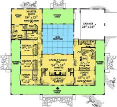 Enchanting U Shaped Courtyard House Plans Gallery - Best idea home .