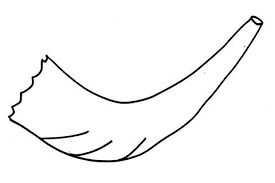 Shofar Template Magdalene Project Org