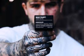 Face War Paint Designs War Paint Makeup For Men Uses Toxic Masculinity To Sell