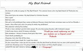 a descriptive essay about my best friend describe a person your best friend sample writing for english