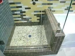 cleaning river rock shower floor problems bathroom tile pebble good til