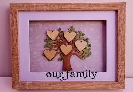 anniversary family tree frame
