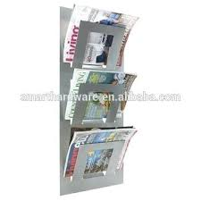 newspaper rack for office. Magazine Rack For Office Wall Mounted Metal Newspaper Buy Racks In India E