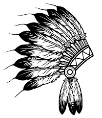 Small Picture indian headdress Native American Coloring pages for adults