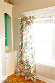 how to hand curtains on windows with decorative molding