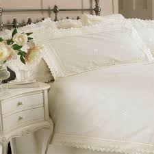 riva classics megan lace broderie anglasie duvet cover