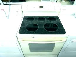 how glass top stove protective cover to clean a flat electric homemade surface cleaner
