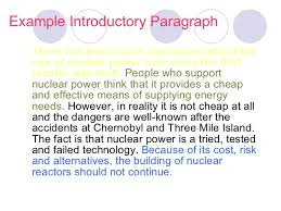 examples of argumentative essays introduction http   beth    hubpages com hub Writing an