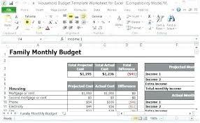 Sample Family Budget Spreadsheet Elegant Bud Excel Sheet Planner ...