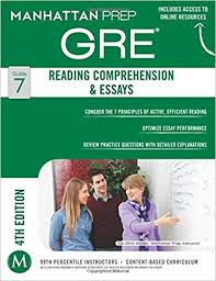 com gre reading comprehension essays manhattan prep gre  gre reading comprehension essays manhattan prep gre strategy guides fourth edition