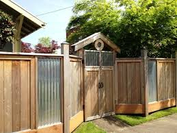 corrugated metal fence panels. 25 Best Ideas About Corrugated Metal Fence On Pinterest Panels