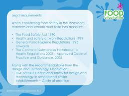 Health And Safety For Design Technology In Schools Food Safety In The Primary Classroom Ppt Video Online Download