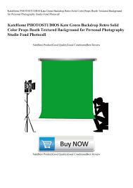 <b>KateHome</b> PHOTOSTUDIOS <b>Kate</b> Green Backdrop <b>Retro Solid</b> ...