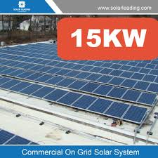 Kw Gridtied Solar Panel Pv System To Generate Solar Power For - Home solar power system design