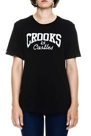 <b>Футболка CROOKS &</b> CASTLES W Metal Core Logo Crew T-Shirt ...