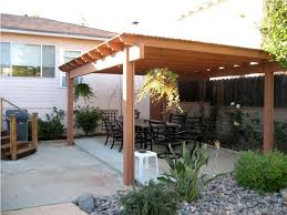 wood patio ideas. How To Build A Freestanding Patio Cover Wood Ideas T