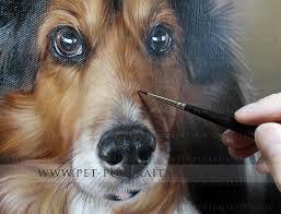 pet portrait joey